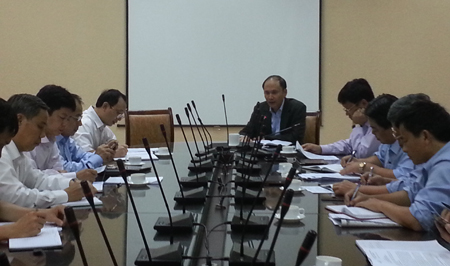 Ngành y tế  chuẩn bị các trạm ứng cứu dã chiến đối phó với bão Haiyan 1