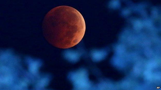 Blood Moon, Milwaukee, US