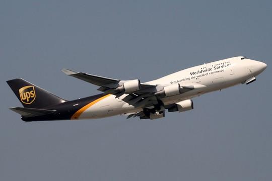 Một máy bay vận tải của hãng UPS. Ảnh: MSNBC