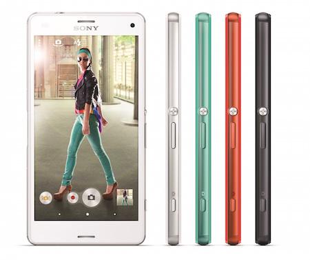 Smartphone giá rẻ Sony Xperia J màu hồng có thiết kế thời trang với mặt lưng uốn cong rất hợp với phái đẹp