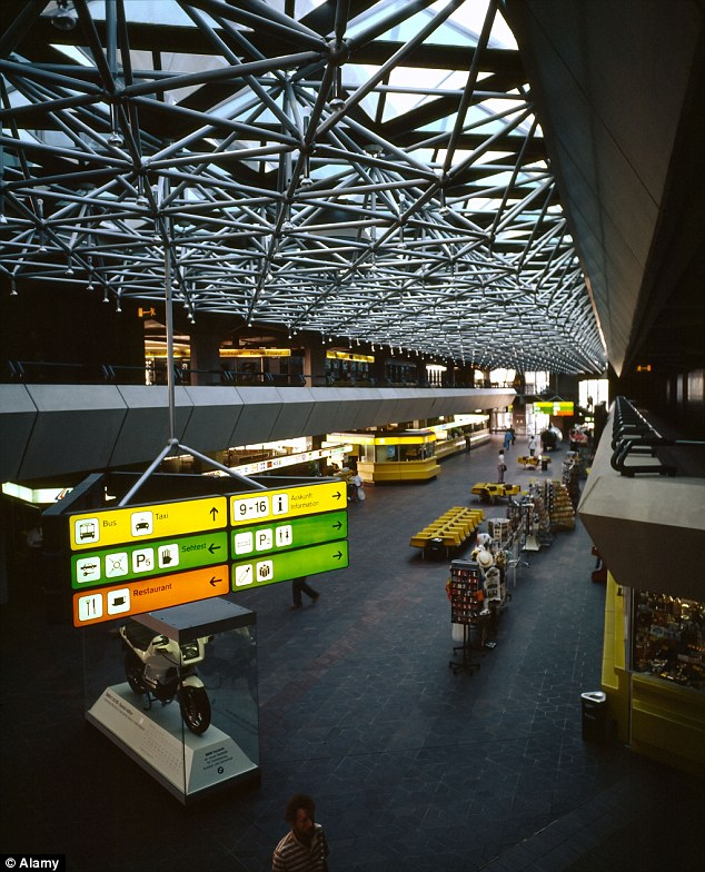 Berlins Tegel International Airport was criticised for limited seating, long queues, crowded restaurants and little personal space