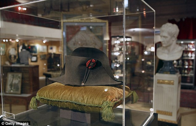 Vintage: The hat remained in Mr Girauds family until 1926 when it was sold to Prince Louis II of Monaco