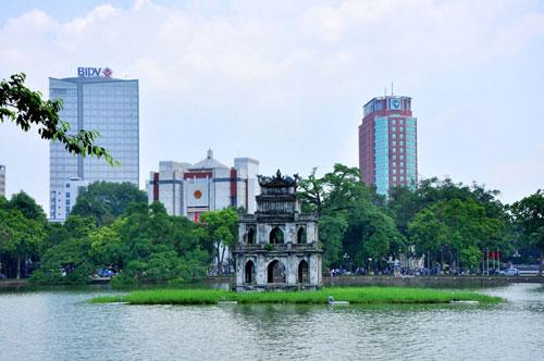 Hà Nội, mùa thu, Hồ Gươm, Bờ Hồ
