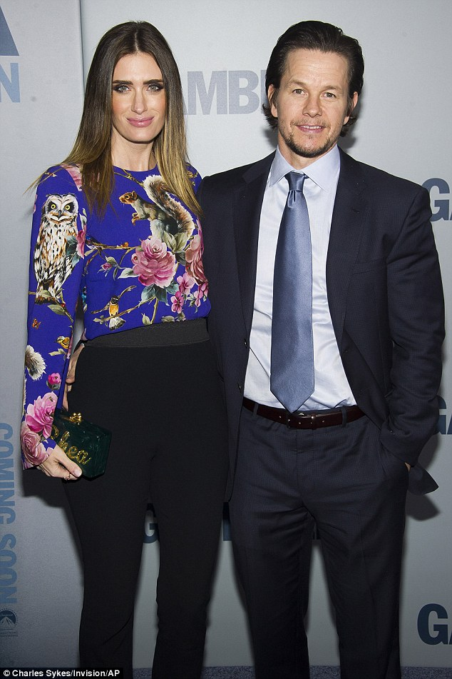 New start? Mark Wahlberg and Rhea Durham attend 'The Gambler' premiere.  Wahlberg wants to become an LAPD reserve cop. But a felony conviction from his youth may block his attempt to become a volunteer