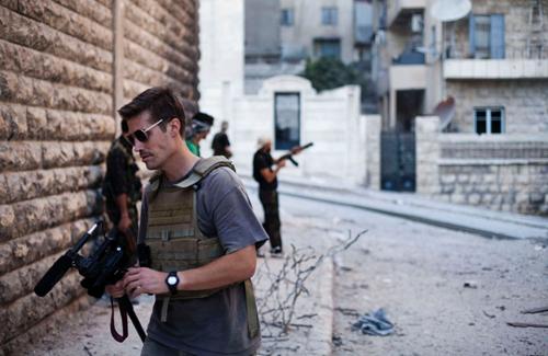 Xót thương nhà báo Mỹ bị phiến quân Hồi giáo chặt đầu man rợ 2