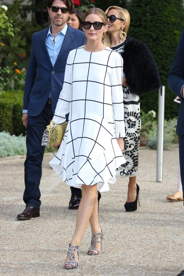 Olivia Palermo Wearing Snakeskin