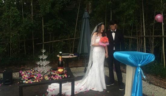 Cặp đôi tổ chức lễ cưới để nói lời chia tay