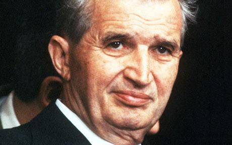 Chủ tịch Romania Nicolae Ceausescu. Ảnh: REX FEATURES
