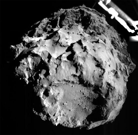 Robot từ tàu vũ trụ châu Âu đã đặt chân lên sao chổi