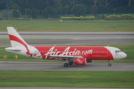 Hãng hàng không AirAsia ngày 28/12