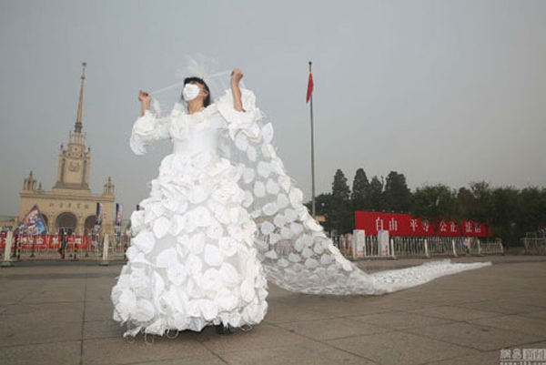 Những chiếc váy cưới độc đáo nhất hành tinh
