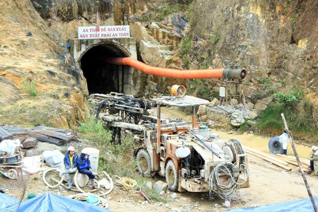 sập hầm; Lâm Đồng