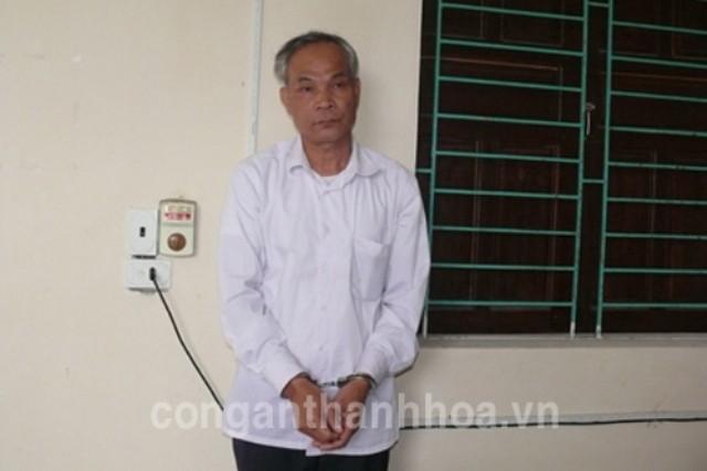 Đối tượng Nguyễn Hữu Nha (Ảnh do Công an Thanh Hóa cung cấp)