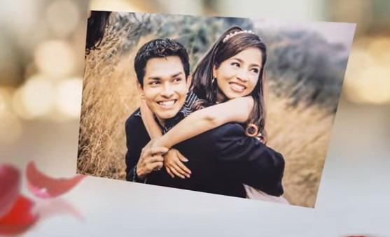Chandru và Pooja lúc kết hôn. Ảnh: YouTube