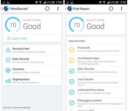 Ứng dụng đánh giá mức độ bảo mật trên thiết bị di động Android và iOS