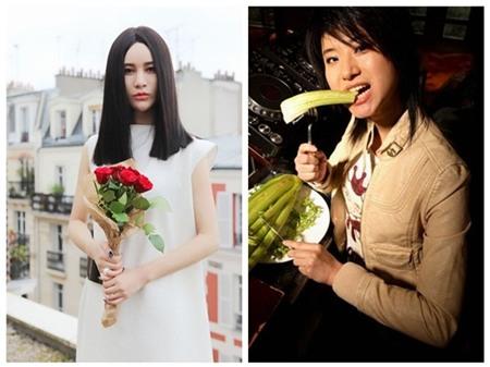 """""""Lady Gaga Trung Quốc"""" Thượng Văn Tiệp gây ngỡ ngàng cho fan hâm mộ khi đăng tải những bức ảnh với nhan sắc """"thường thường bậc trung""""."""