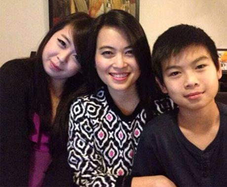 Di ảnh ba mẹ con chị Nguyễn Ngọc Minh.