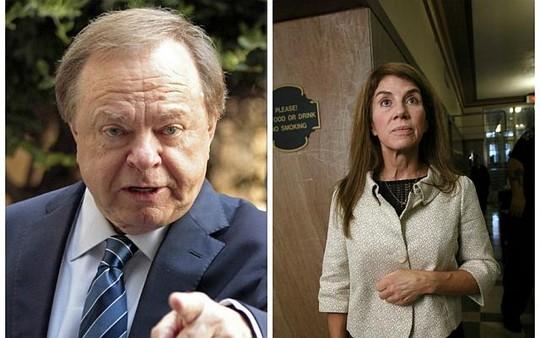 Ông Harold Hamm (trái) và bà Sue Ann Hamm. Ảnh: Reuters