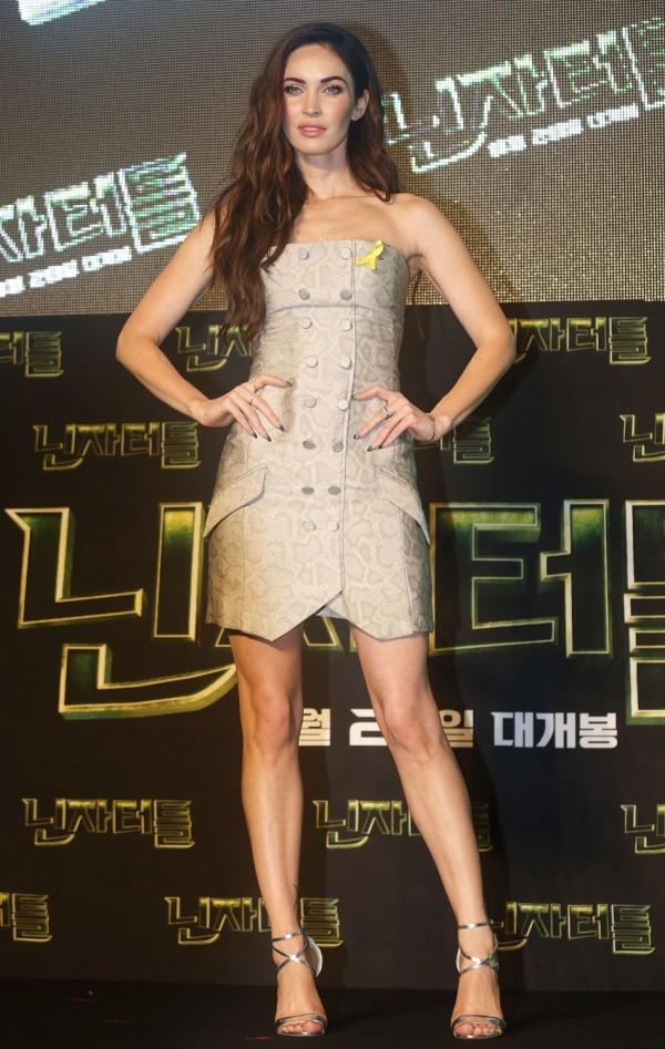 Megan Fox Wearing Snakeskin
