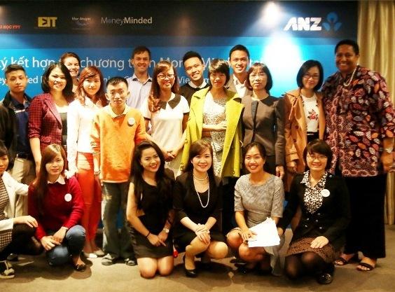 Sinh viên là mục tiêu mà ANZ và đối tác hướng đến trong dự án Quản lý tài chính MoneyMinded