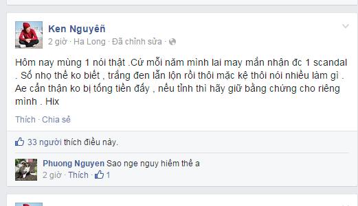Nhiếp ảnh gia Ken Nguyễn trần tình sau khi bị tố gạ tình