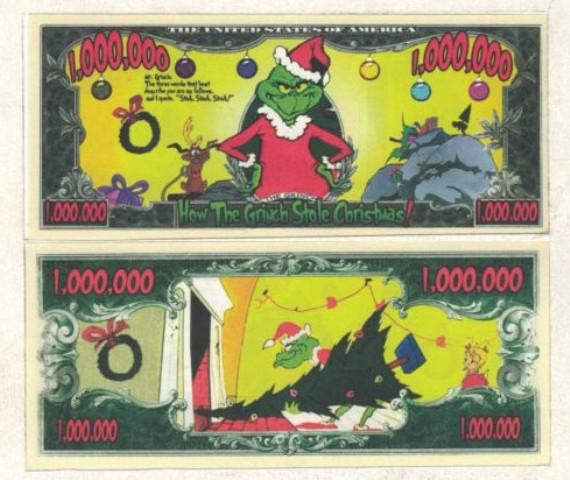 Tờ... 1 triệu đô la kể chuyện tên trộm Grich đã đánh cắp quà Giáng sinh