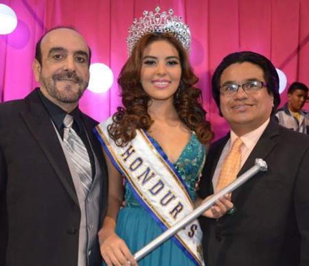 Hoa hậu Honduras tại lễ đăng quang
