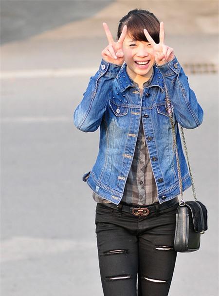 Cô được mệnh danh là hotgirl của làng wushu. Ảnh: Ngôi sao