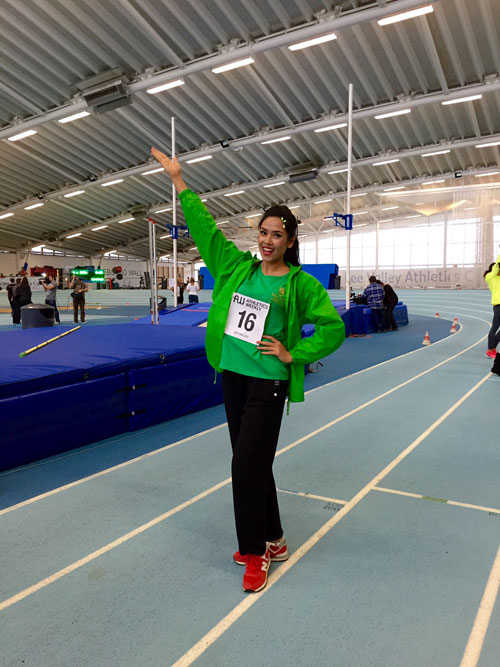 Với 121 thí sinh tham dự, việc lọt vào top 32 thí sinh trong phần thi thể thao cũng được coi là một thành tích đáng tự hào của đại diện Việt Nam- điều mà trước cô, chưa ai làm được