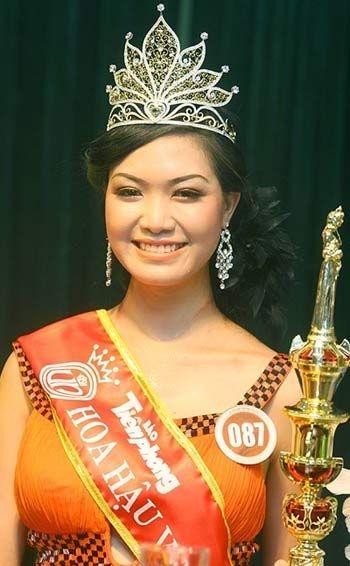 Hoa hậu Thùy Dung với nét thô mộc...
