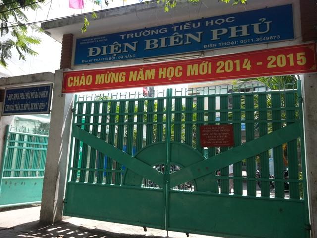 Trường tiểu học Điện Biên Phủ dậy sóng khi biết tin cô Vương Thị Vân về làm hiệu trưởng. Ảnh Đức Hoàng