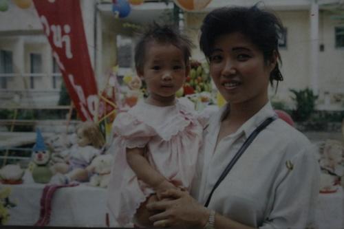 Mẹ Thúy Vi là cựu võ sinh phái Vịnh Xuân Quyền. Ảnh: TTT