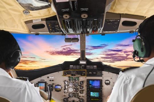 Sẽ không có gì đáng nói nếu phi công điều khiển máy bay trong điều kiện thời tiết thuận lợi. Ảnh: AirAsia