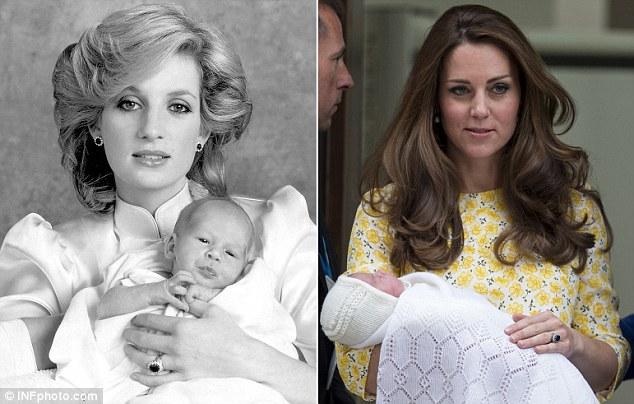 Công nương Kate Middleton đã hoàn thành được tâm nguyện chưa đạt được của mẹ chồng. Ảnh: INF photo