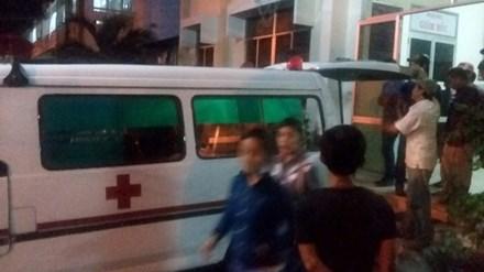 Người thân đang đưa thi thể Dương Văn Hận về quê chuẩn bị lo hậu sự.