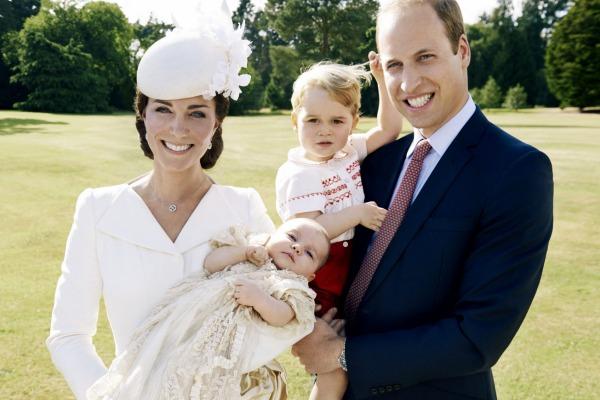 Gia đình hạnh phúc của vợ chồng hoàng tử William