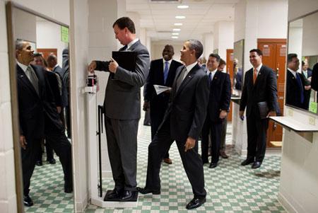 Hình ảnh Những khoảnh khắc hài hước của Tổng thống Obama số 4