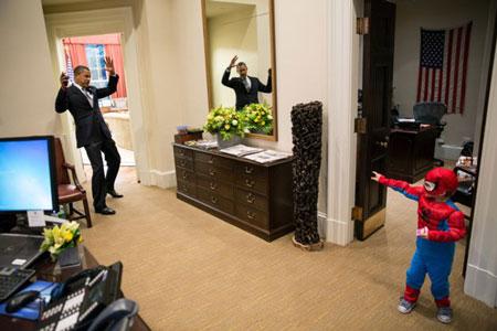 Hình ảnh Những khoảnh khắc hài hước của Tổng thống Obama số 9