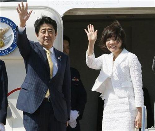 Nhật Bản, Akie Abe, Shinzo Abe, việc nhà