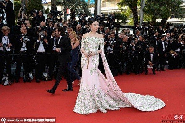 Cannes, LHP, Phạm Băng Băng, thảm đỏ