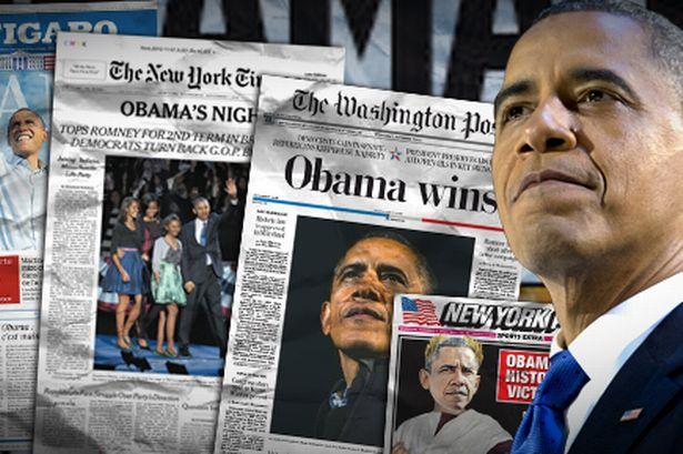 Danh sách những tờ báo mà tổng thống Obama thường theo dõi phải kể là New York Times, Washington Post, Wall Street Journal và Politico.