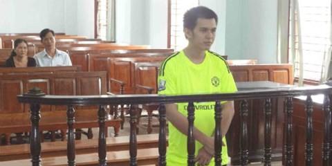 Bị cáo Linh tại phiên tòa phúc thẩm.