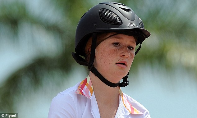 Concentration: Miss Gates has taken part in junior divisions at the equestrian show in Florida