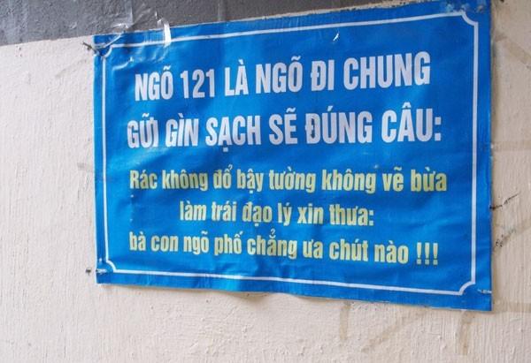 cấm vứt rác nơi công cộng 5