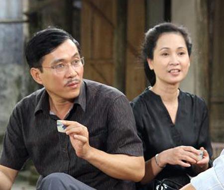 Vợ chồng NSND Lan Hương- Đỗ Kỷ đều từng làm việc tại nhà hát Kịch VN
