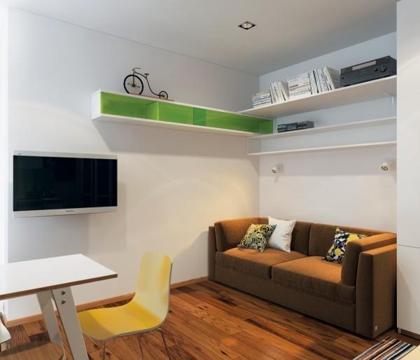 Ngắm 3 căn hộ nhỏ diện tích dưới 33m² nhưng không có gì để chê 1