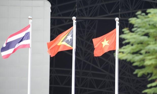 Quốc ca Việt Nam vang lên ở lễ thượng cờ SEA Games 28