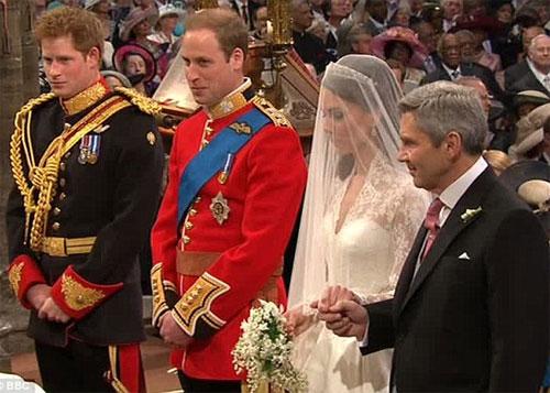 Bắt đầu cử hành hôn lễ thế kỷ của Hoàng gia Anh