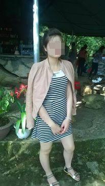 Cô gái xấu số Nguyễn Thị Mây (ảnh Facebook của nạn nhân).