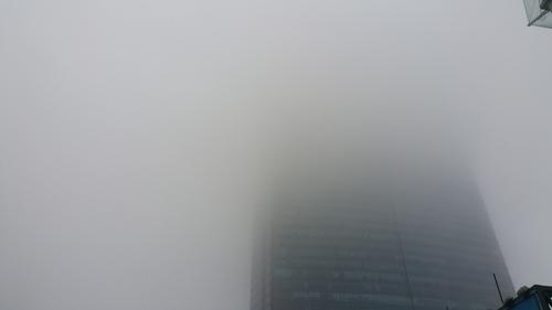 sương mùa; Hà Nội; cầu Nhật Tân; Keangnam